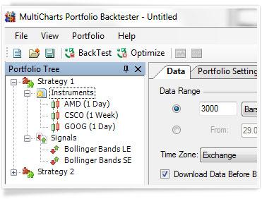 Dynamic Portfolio Backtesting